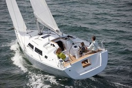 hanse 325 zeilboot huren bij ijsselmeer zeilboot huren