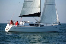 jeanneau zeilboot huren zeilvakantie nederland ijsselmeer waddenzee